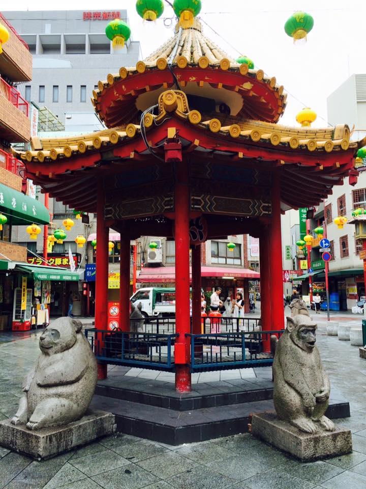 神戸南京町にて