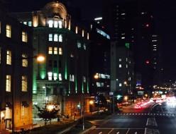 商船三井ビルディングの夜