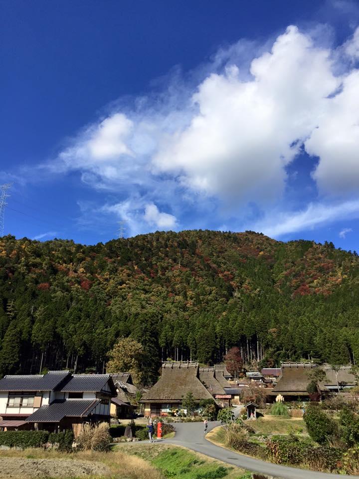日本の素朴な原風景、美山へ