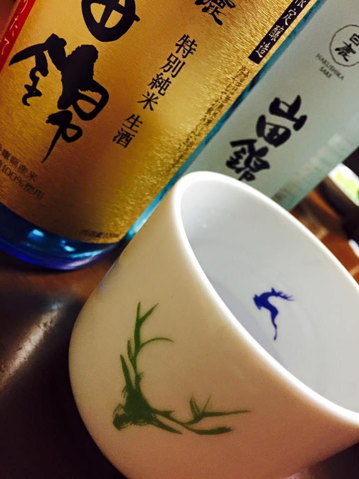 日本酒で乾杯!