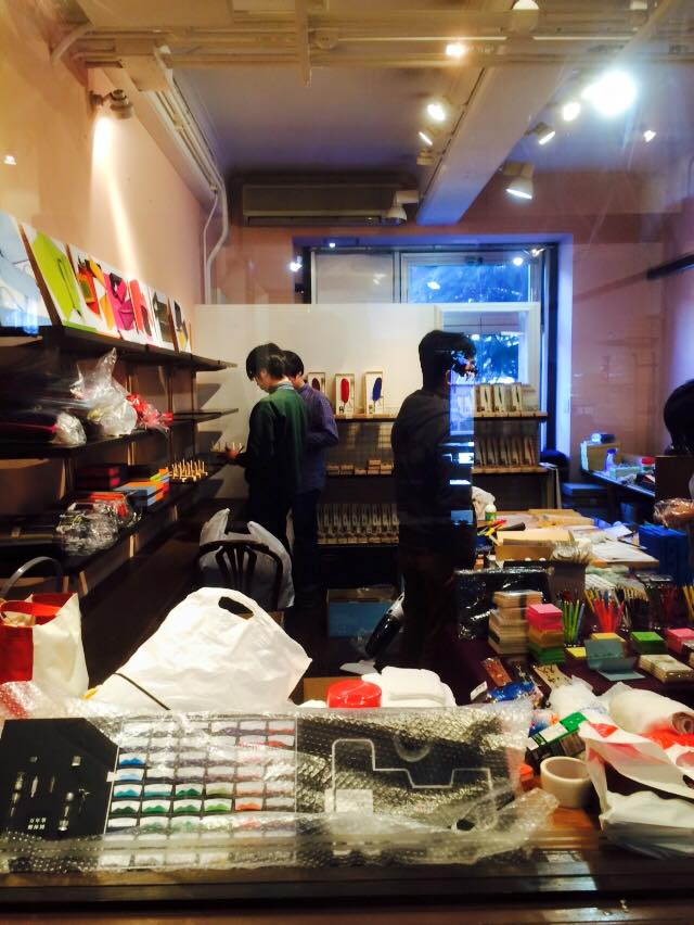 Kobe INK物語の店 準備中