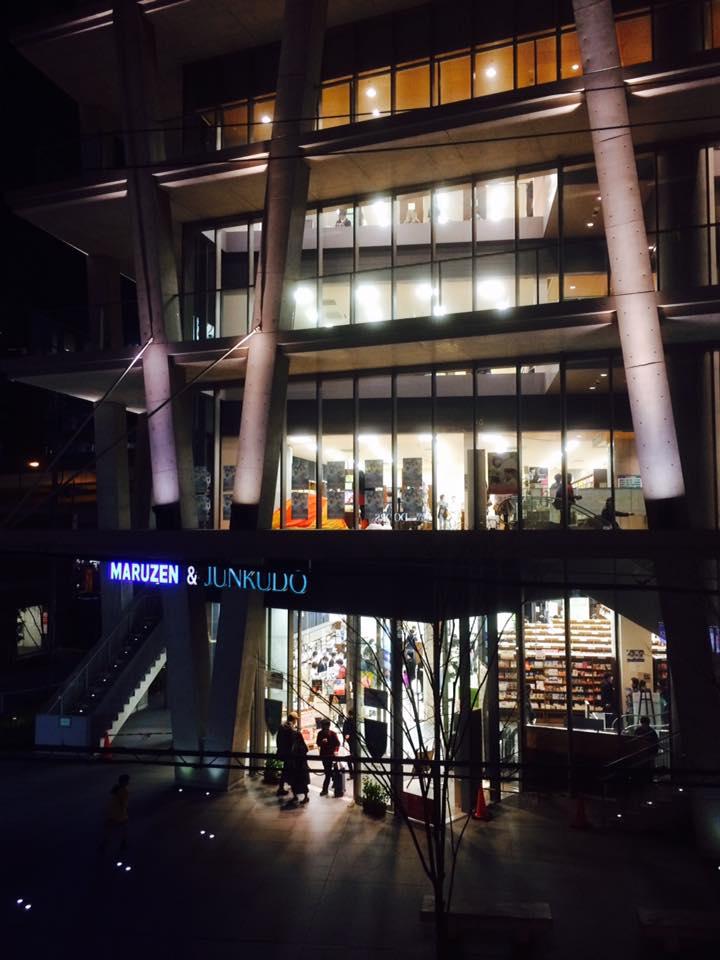 NAGASAWA 梅田茶屋町店夜景