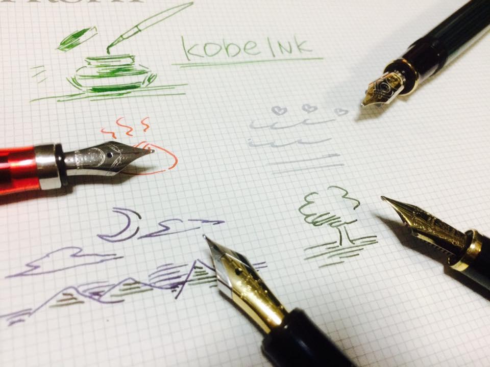Kobe INK物語 お試し描きコーナー