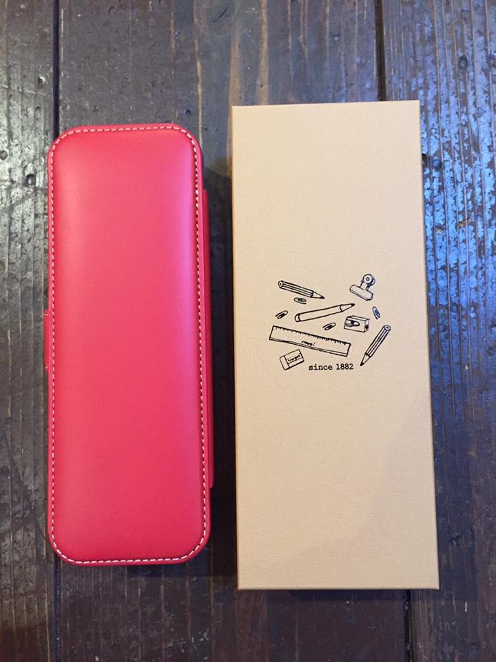 おとなの真っ赤な筆箱