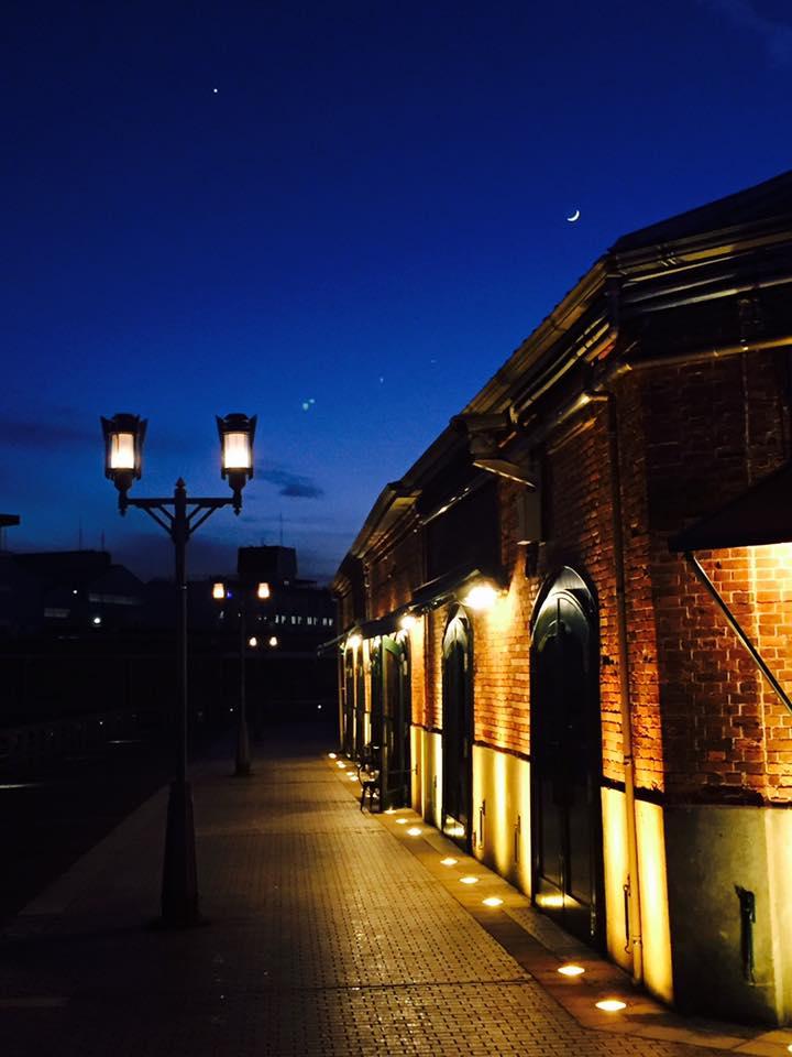 神戸煉瓦倉庫、日常の夜