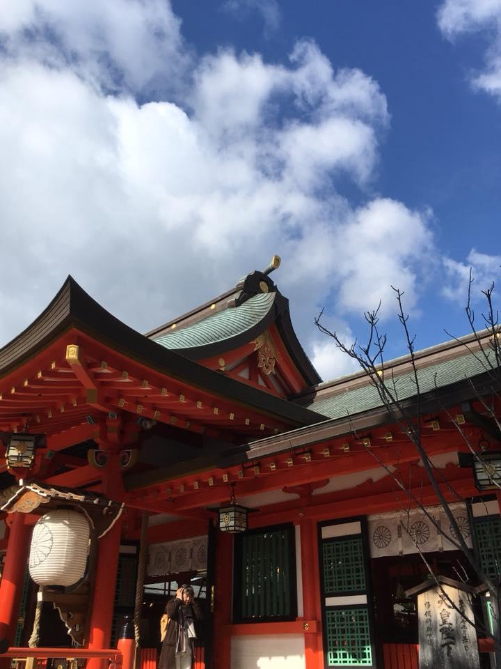 都会のオアシス・生田神社