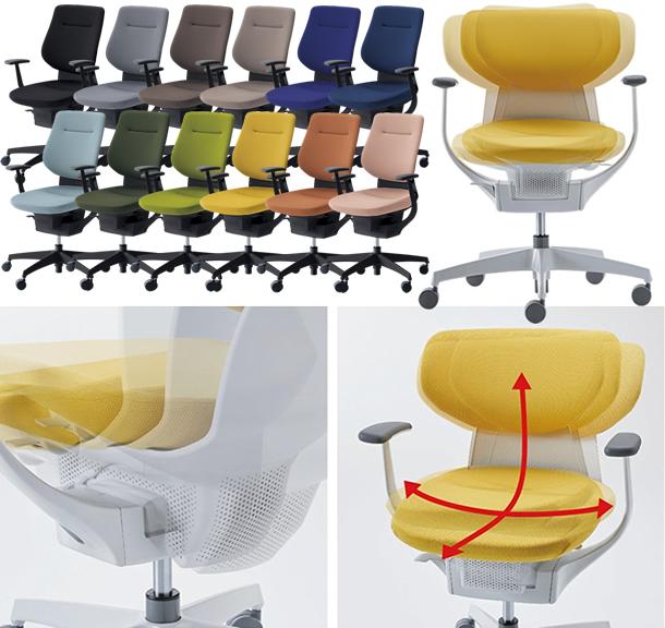 身体と脳を活性化する話題の椅子。コクヨ 360°グラインドチェア ing