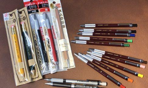 鉛筆ブームでこちらも人気が出ています!鉛筆+シャープペンシル=?
