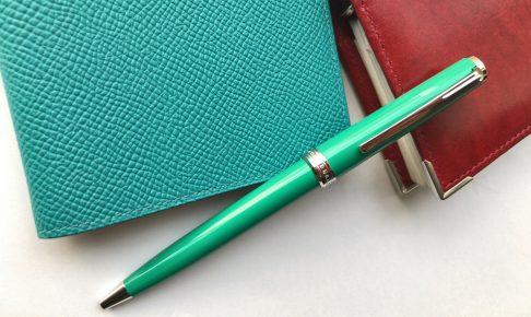 小日向京のひねもす文房具 第百四十八回「モンブラン PIX ボールペン」