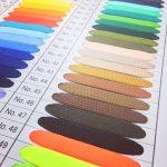 袋織タイプのネックストラップの色見本