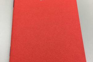 ノーリツ様のオリジナル手帳!色がかっこいい