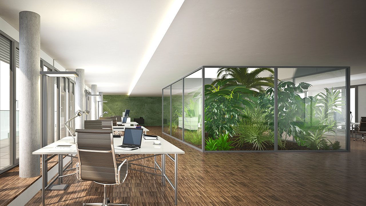 グリーンオフィス(オフィスの緑化)