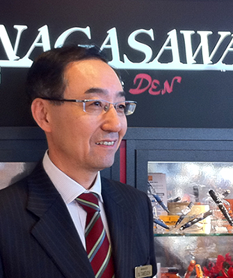 ナガサワオリジナル万年筆やKobe INK物語のご紹介|開発者:商品企画室 竹内直行