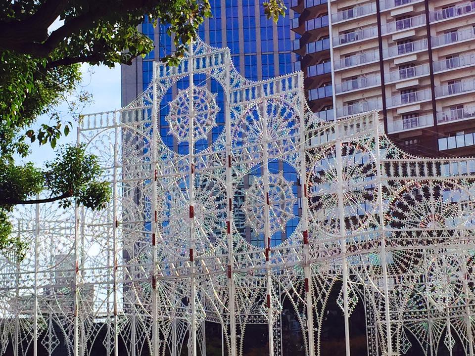2015年 神戸ルミナリエ 準備中