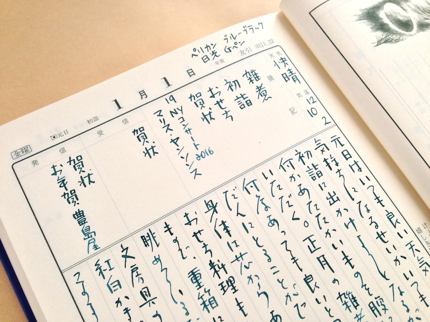 博文館の当用日記