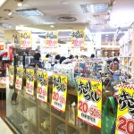 n→エンヌさんちか店 店舗改装売りつくし
