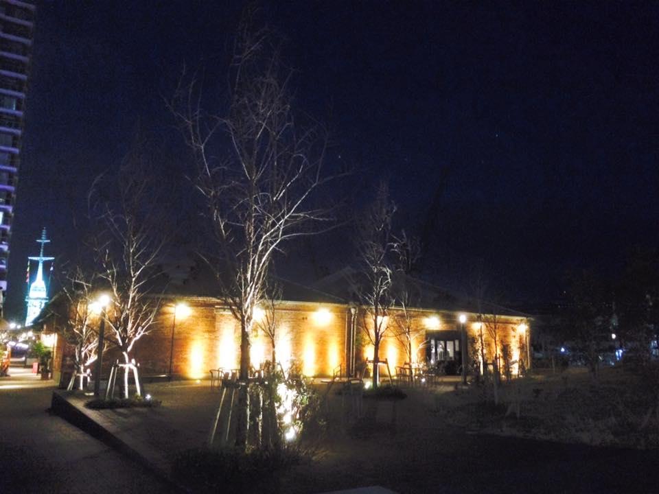 夜の神戸煉瓦倉庫店