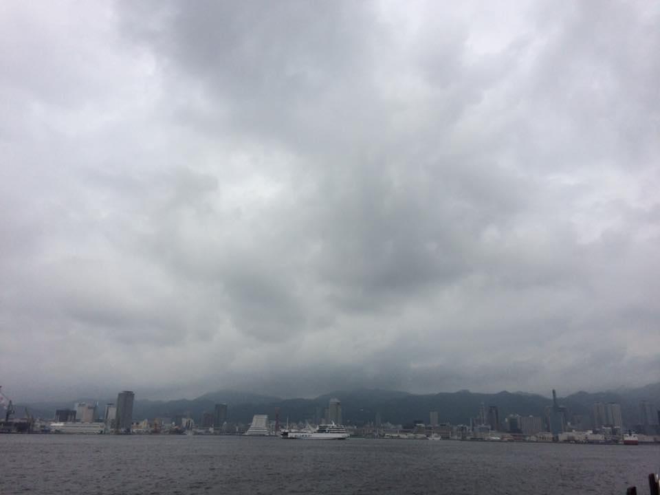 神戸ポートアイランドにて