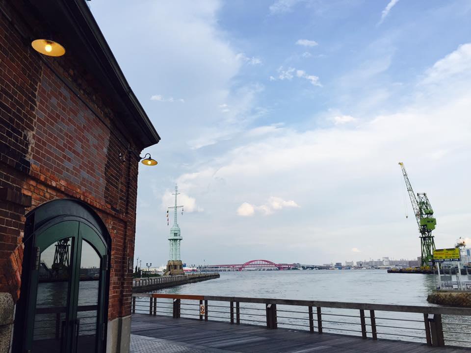 海の見える神戸煉瓦倉庫界隈へ