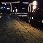 跳ね橋イルミネーションと神戸煉瓦倉庫