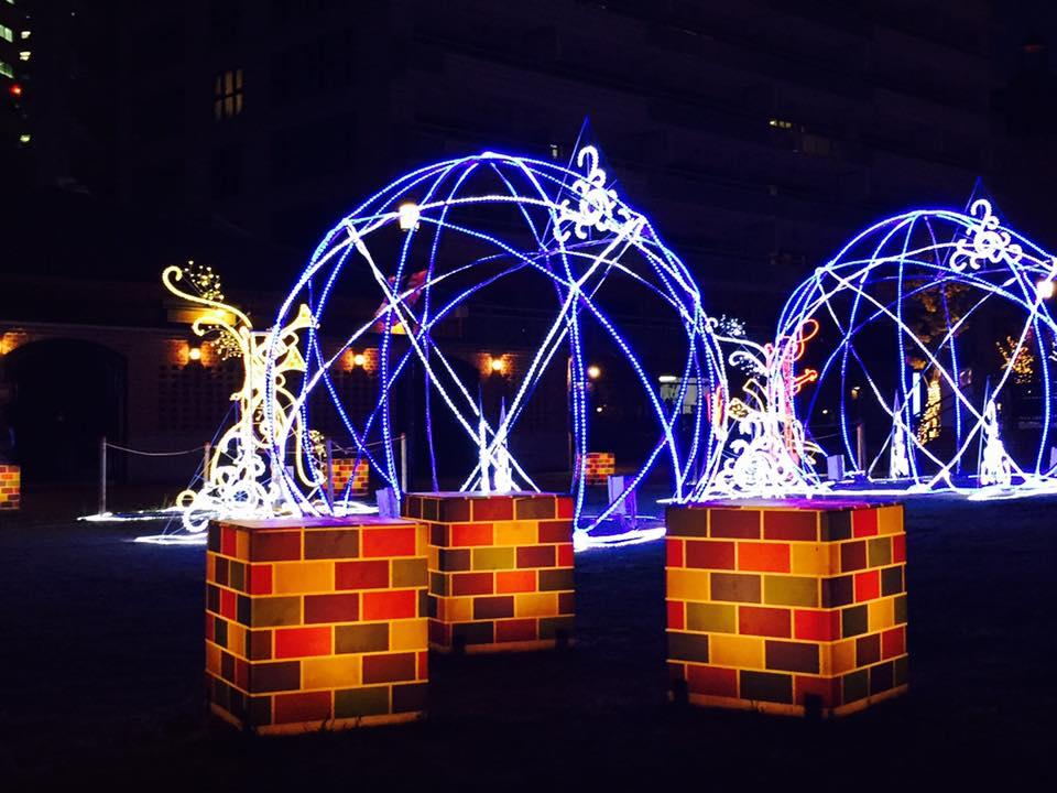 神戸煉瓦倉庫の夜スナップ