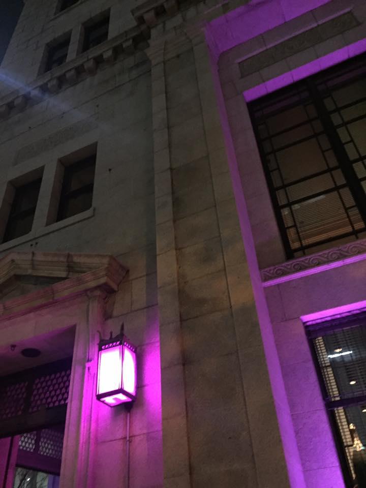 旧居留地チャータードビル ライトアップ