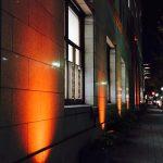 神港ビルヂング ライトアップ