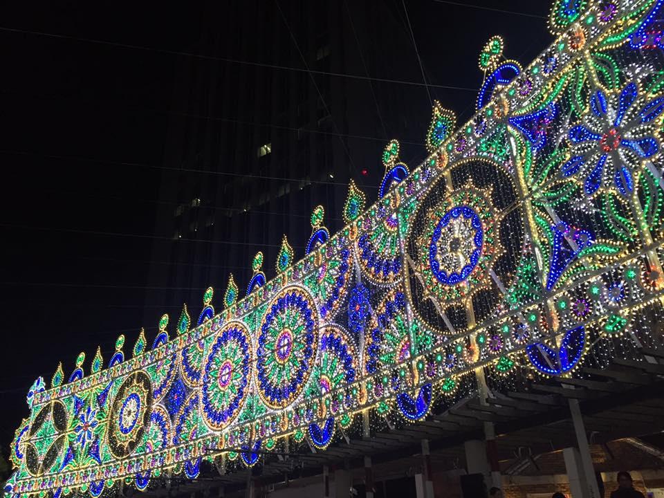 22回目の神戸ルミナリエ開催中