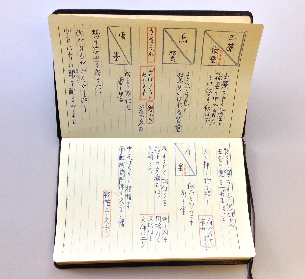 小日向京のひねもす文房具|第七十九回「能率手帳GOLD MEMORANDUM」