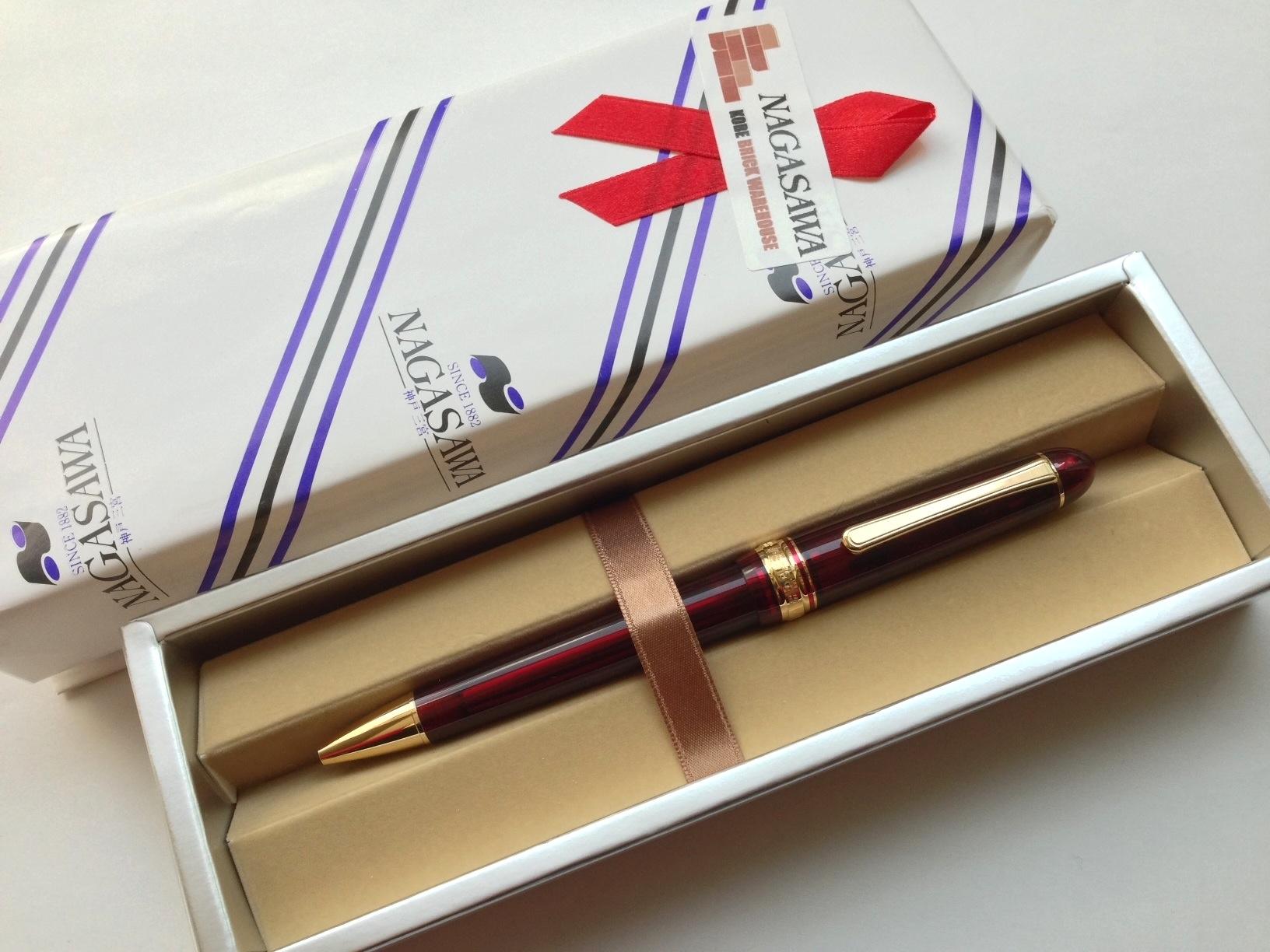 小日向京のひねもす文房具|第八十四回「プラチナ万年筆 #3776センチュリー ブルゴーニュ ボールペン」