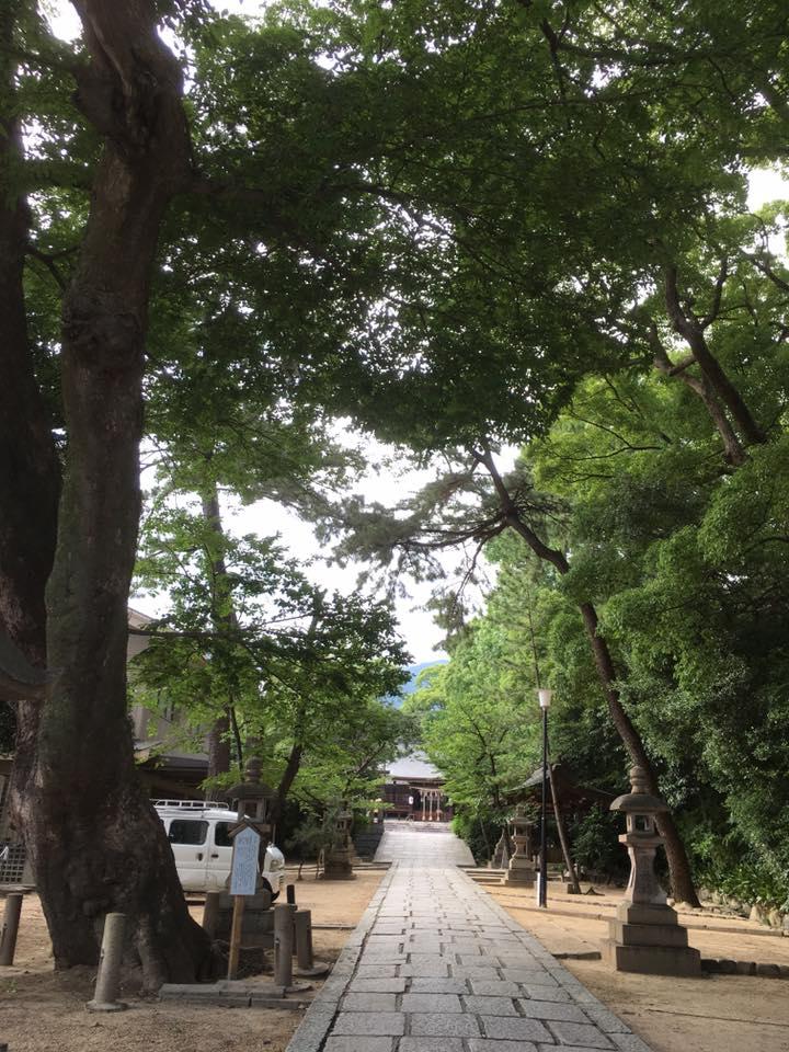 神戸御影 弓弦羽神社