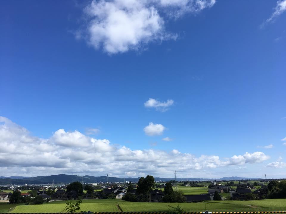 夏の富山へ一直線