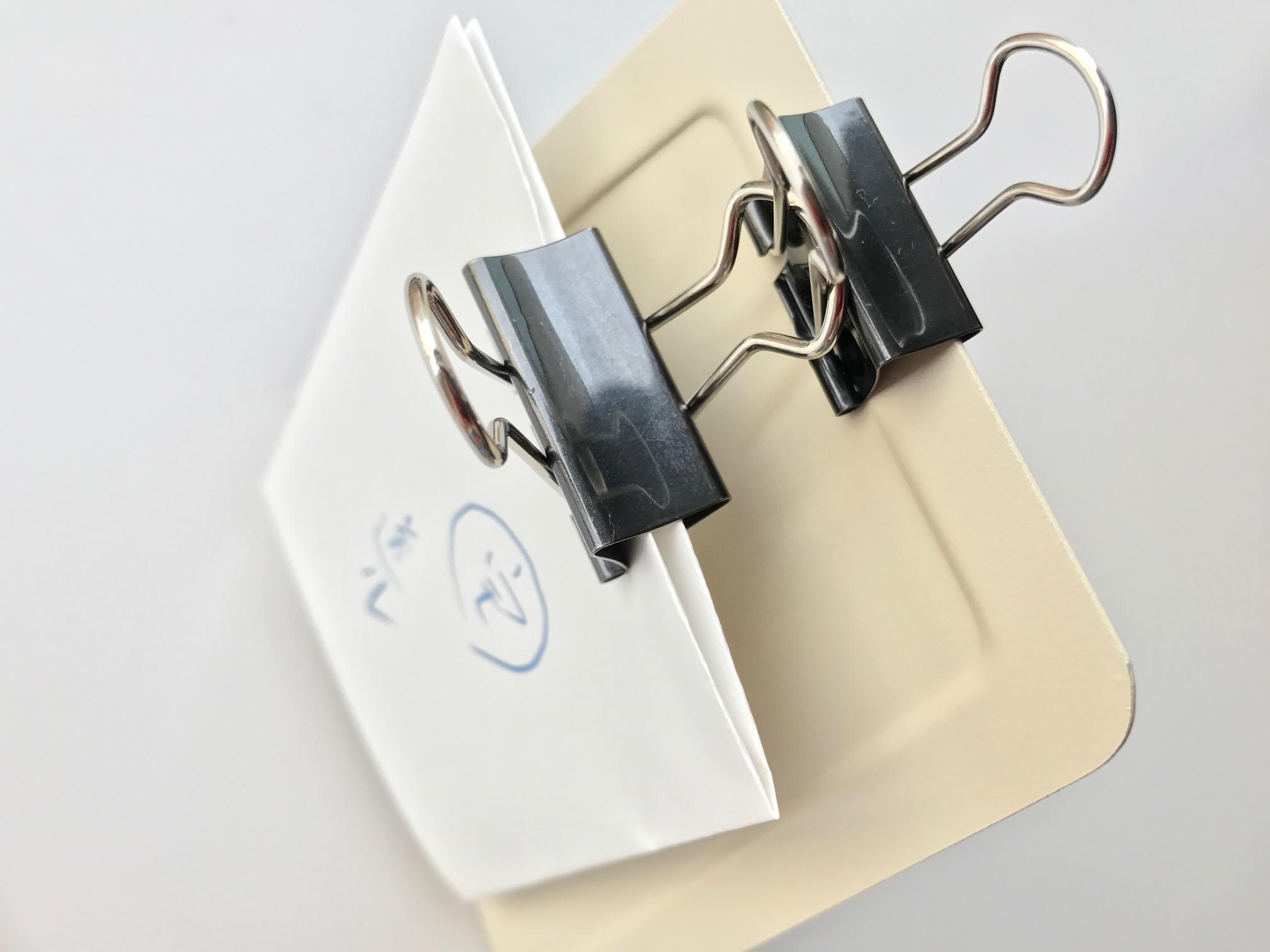小日向京のひねもす文房具|第百五回「ダブルクリップを愛おしむ」