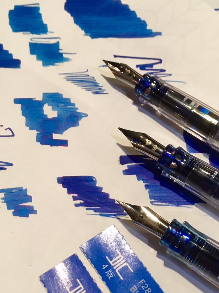 透明万年筆の楽しい使い方