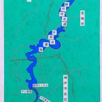 神戸千苅ダムの放流風景