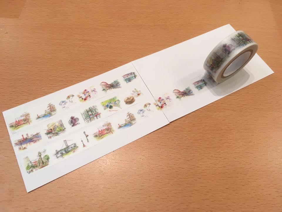 マスキングテープで大人の神戸散歩