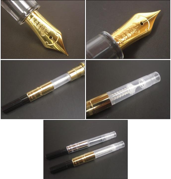 NAGASAWA オリジナル万年筆 プロフィット スケルトン  PROSKE プロスケ 14金ペン先