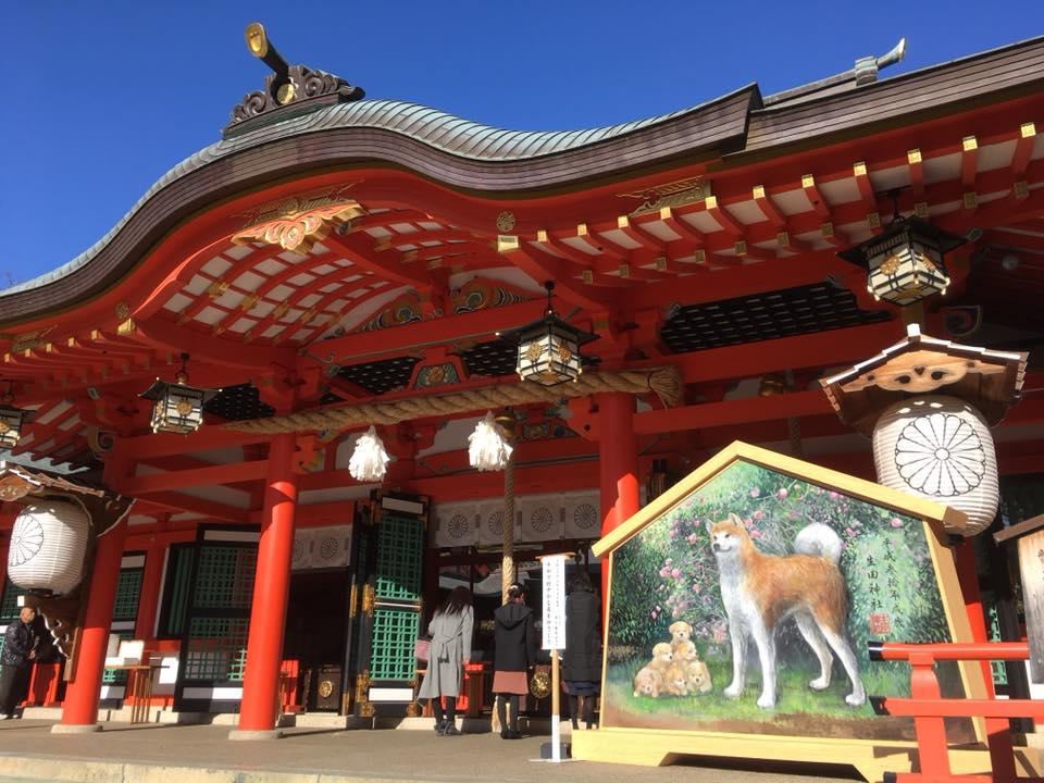 生田の森と神社