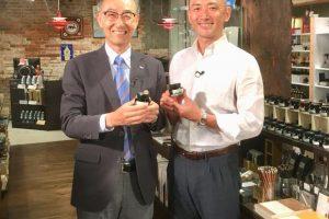 神戸煉瓦倉庫店にてTV取材