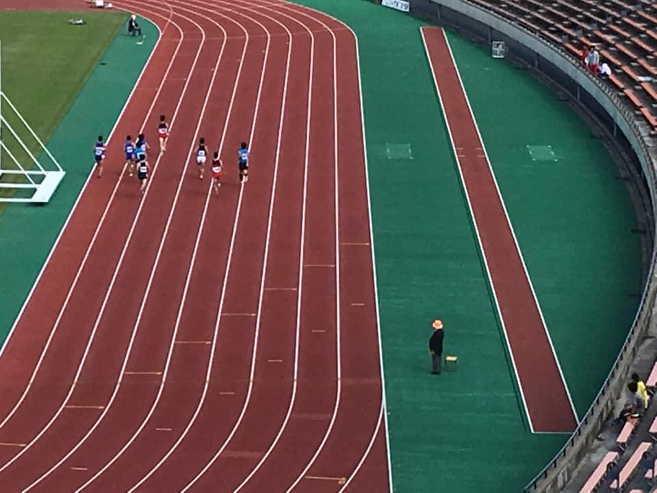秋晴れの神戸総合運動公園