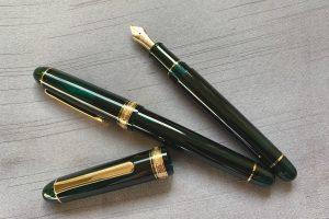 小日向京のひねもす文房具|第百六十五回「プラチナ万年筆 #3776センチュリー ローレルグリーン」