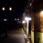神戸煉瓦倉庫の夜、TV取材