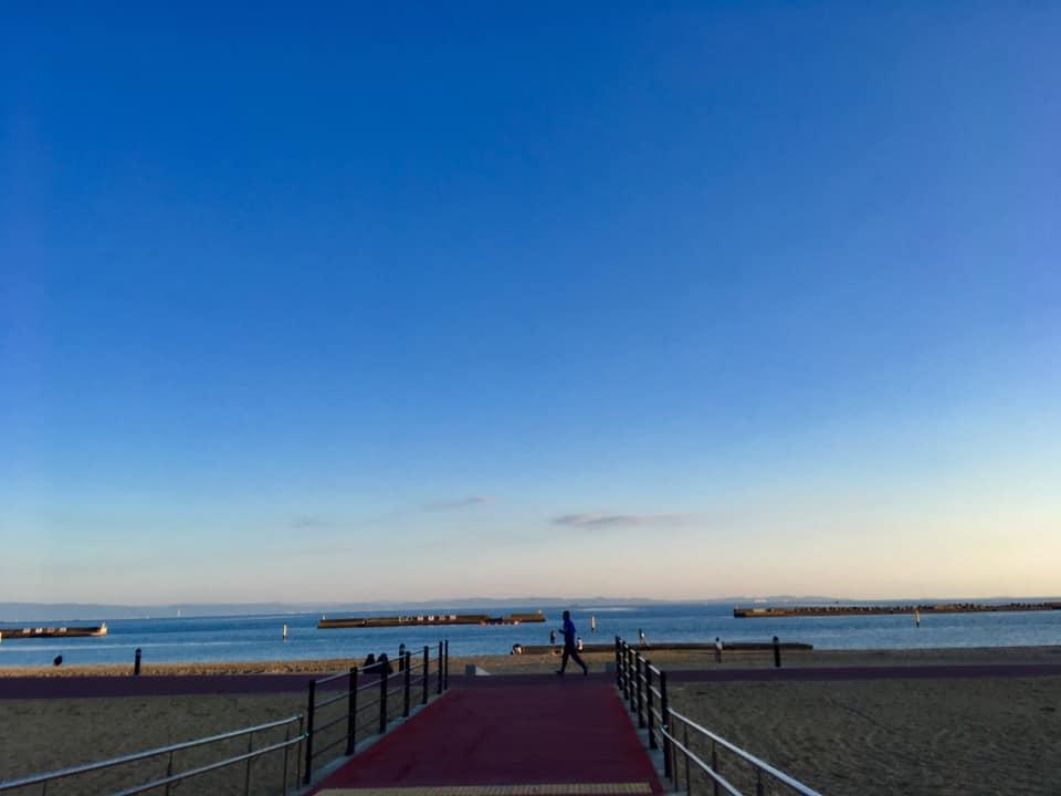 2019年 須磨の海