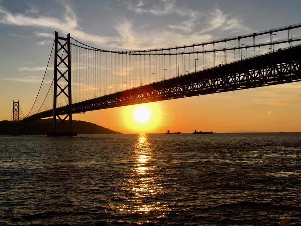 神戸西海岸夕陽色万年筆 準備中