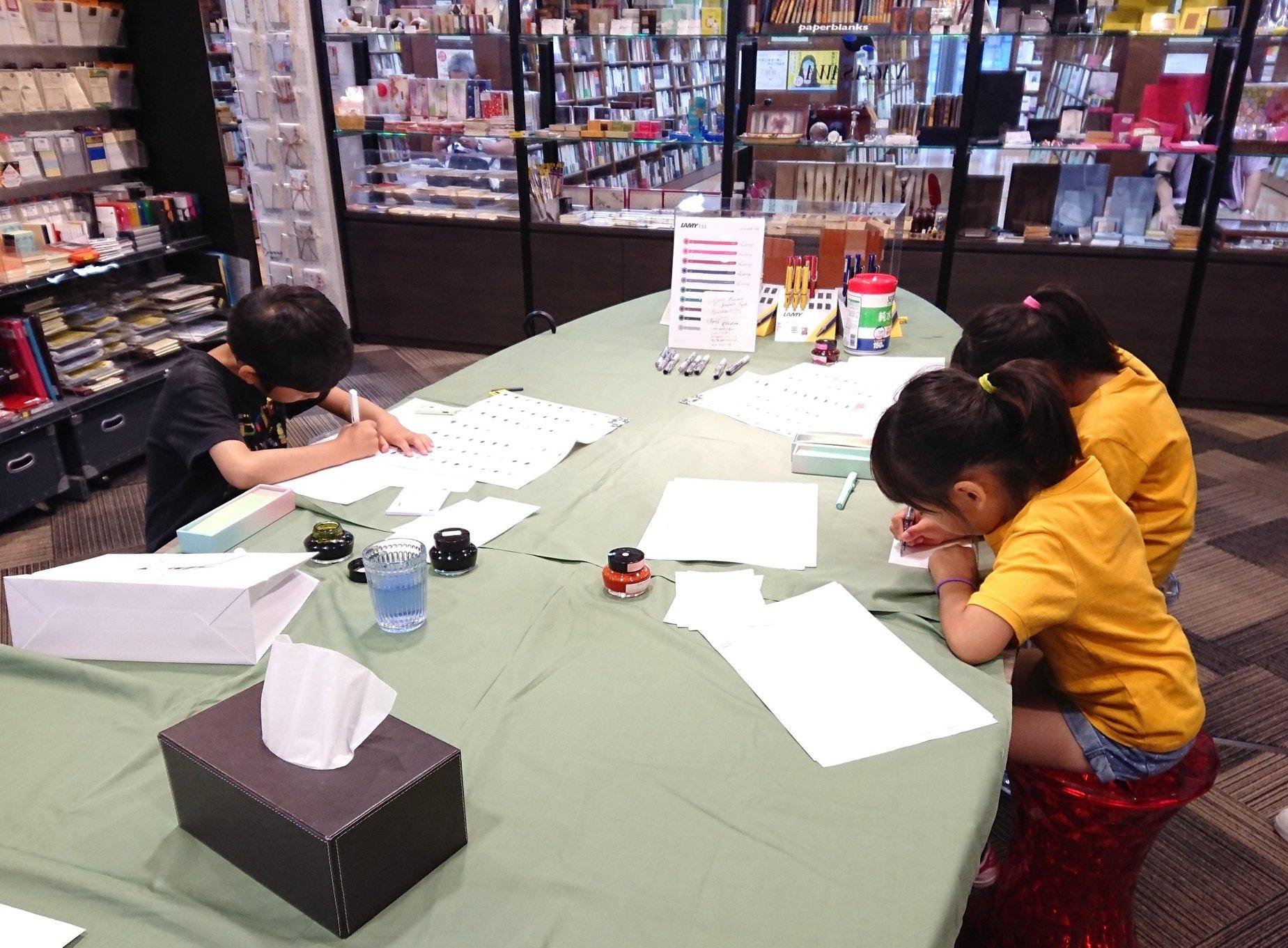 子供たちのための万年筆教室」開催