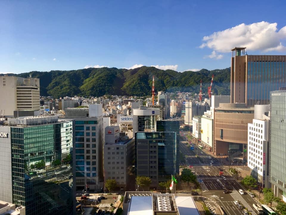 神戸の風景で包み込んで