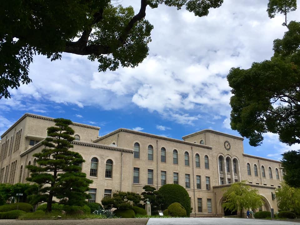 神戸大学 六甲台本館にて