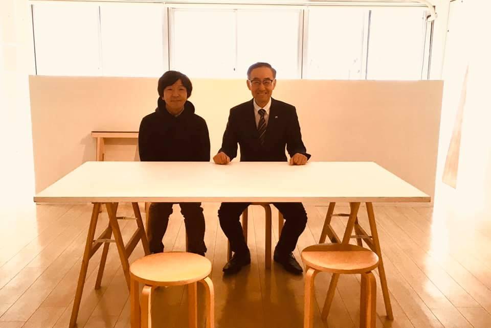 神戸情報発信基地にて