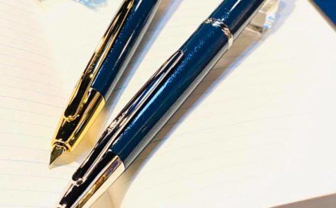 北野坂ナイトブルー キャップレス万年筆発表