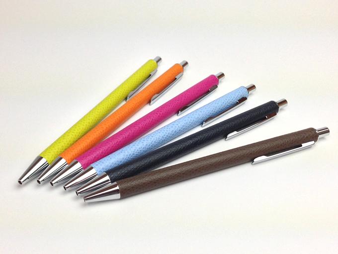 ビサイド革巻きボールペン